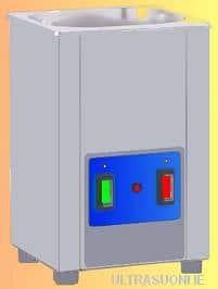 Lavatrice ad ultrasuoni da 2 litri