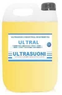 Detergente ultrasuoni per ottone e acciaio