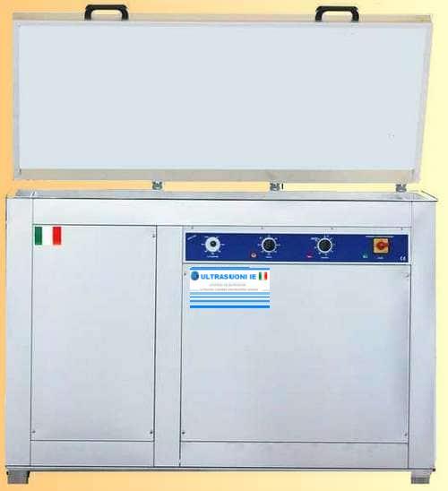 Lavatrice ultrasuoni per pezzi e componenti industriali