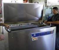 Lavatrice ultrasuoni serie industria